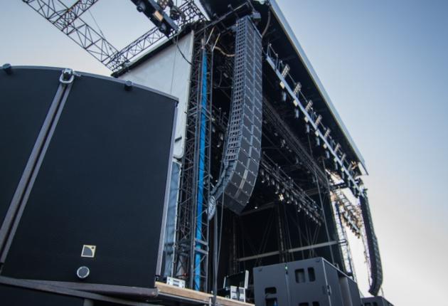 Eminem und Black Box Music setzen in Hannover auf L-Acoustics
