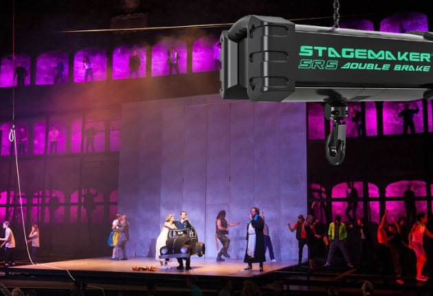 Salzburger Landestheater investiert in Kettenzüge und ein Lastmess-System von cast