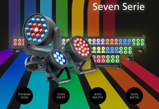 ELATION ergänzt die 7-Farb-Familie mit Seven Batten 72