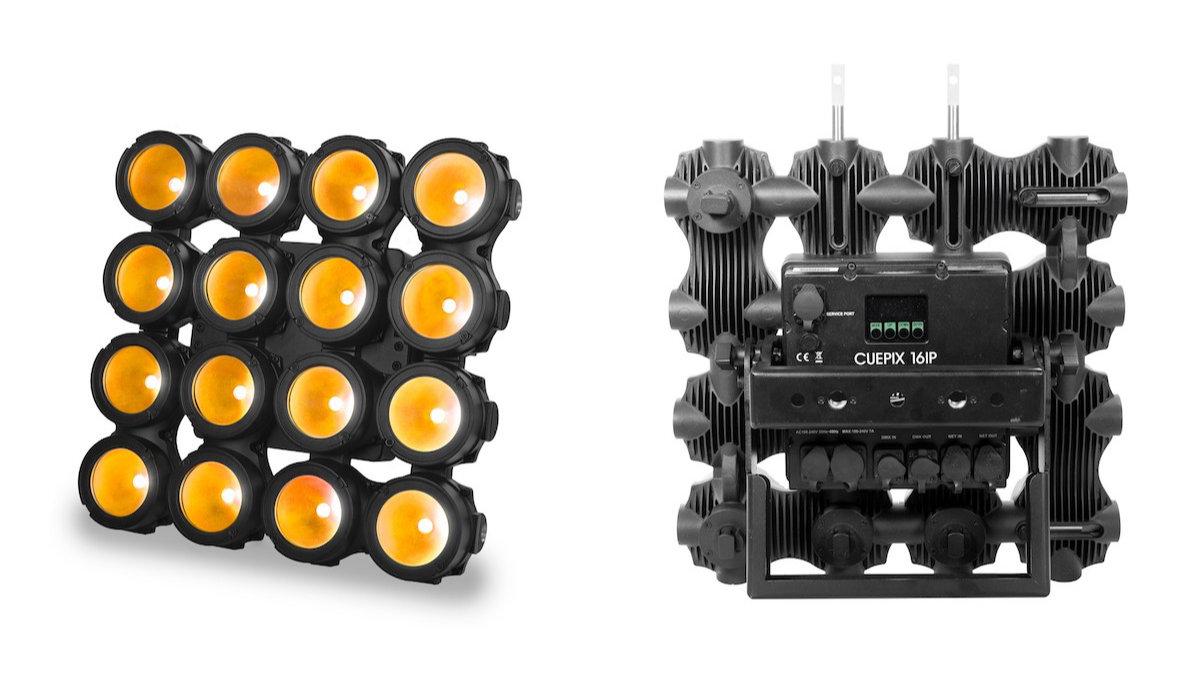 ELATION Professional stellt vielseitiges LED-Effektpanel Cuepix 16 IP vor