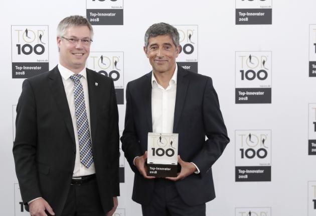 Movecat erhält erneut den Innovationspreis und das TOP 100-Siegel