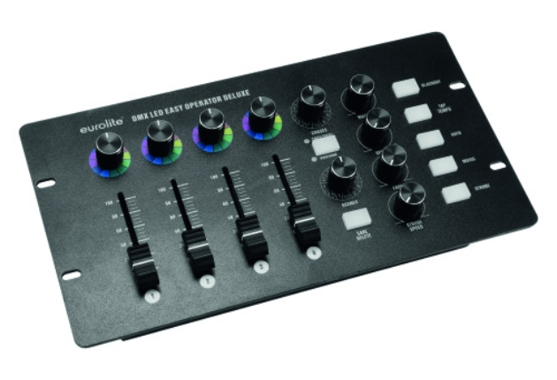 Eurolite stellt die kompakten LED Easy Operator DMX-Controller vor