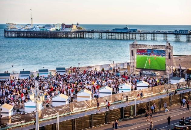 NEXO und Prolights schaffen beim Luna Beach Cinema in Brighton perfekte Kinostimmung