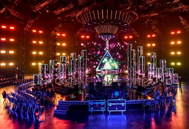 TV Produktionsstudios setzen vermehrt auf EHRGEIZ SuperNova RGBW