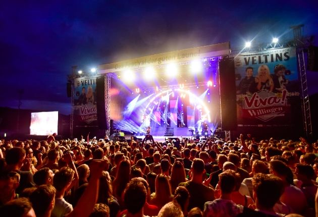 Colito Productions beschallt das Partyschlagerfestival Viva Willingen mit RCF