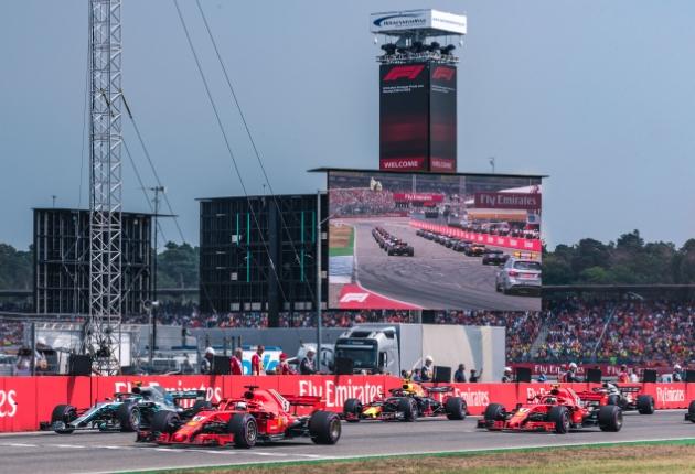 Screen Visions setzt erstmals Unilum UPAD III bei Formel 1 am Hockenheimring ein