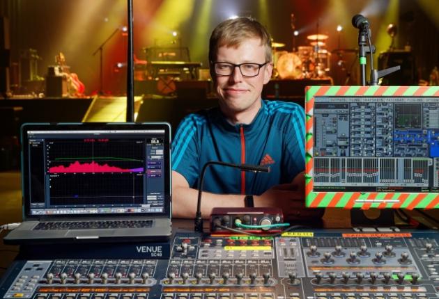 Alexander Knappe setzt bei seiner Tournee auf Equipment von Sennheiser