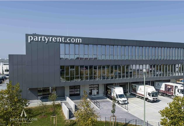Party Rent zieht in den neuen Standort nach München Feldkirchen