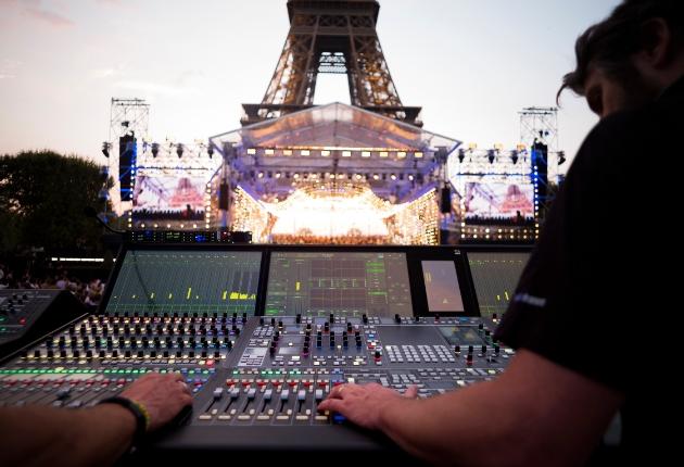 Lawo sorgt für Live-Mix und -Übertragung des französischen Nationalfeiertags
