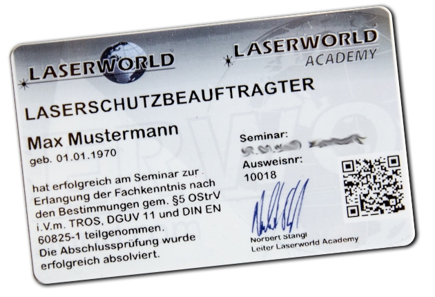 Laserschutzseminar.de bietet neue Seminartermine an