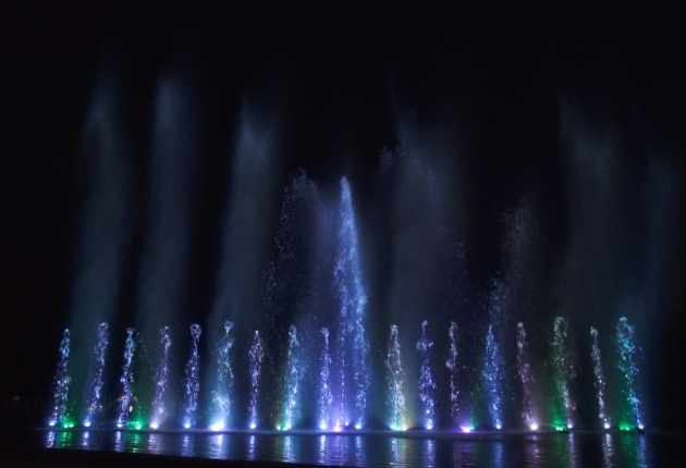 multisenses inszeniert spektakuläre Wassershow beim Juicy Beats Festival
