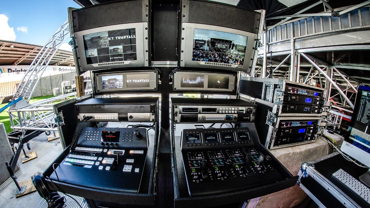 Blackmagic sorgt bei Simple Minds/Pretenders-Tour für reibungslosen Live-Produktionsworkflow