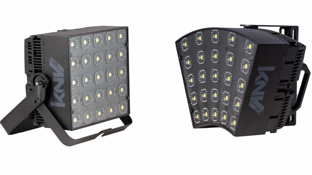 Das  modulare LED System KNV von GLP eröffnet neue Möglichkeiten