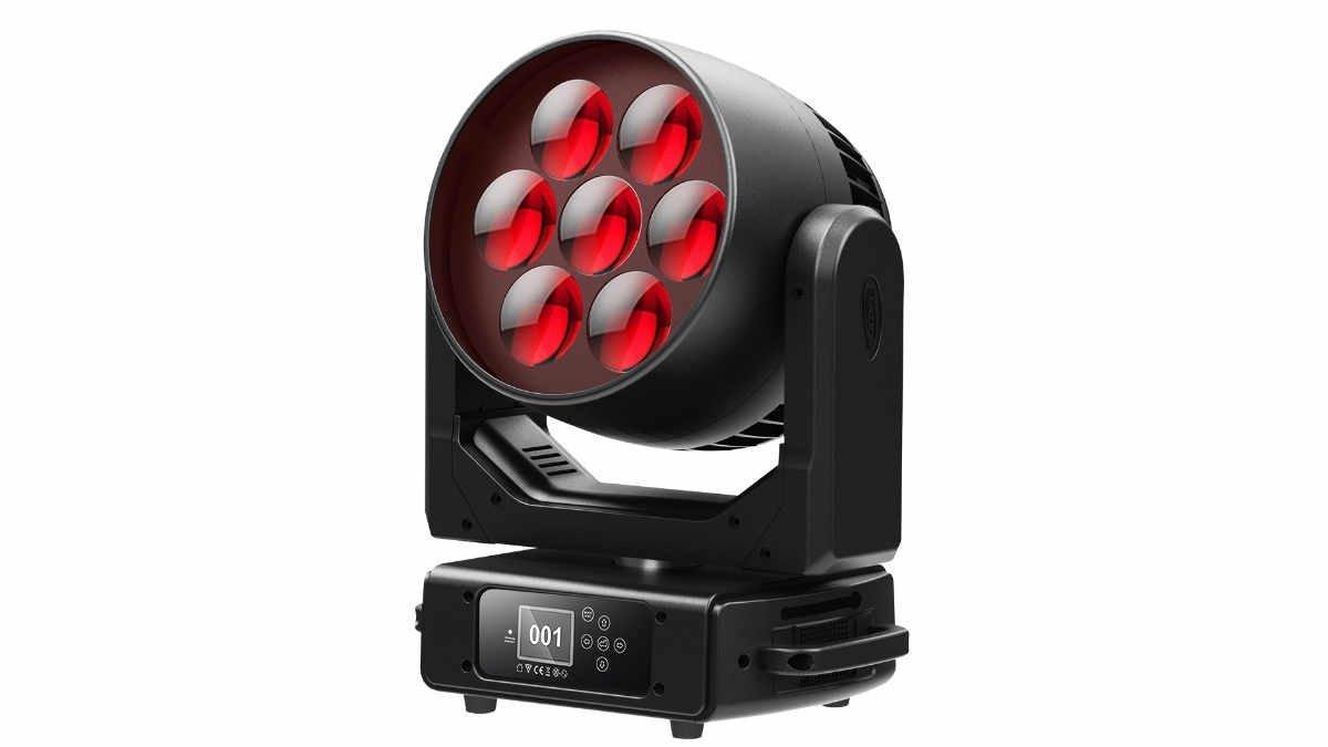 Elation stellt mit dem Rayzor 760 den ersten Scheinwerfer mit TwinkLED-Technologie vor