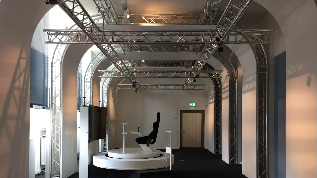 Global Truss gibt dem VRlab im Deutschen Museum einen technischen Look