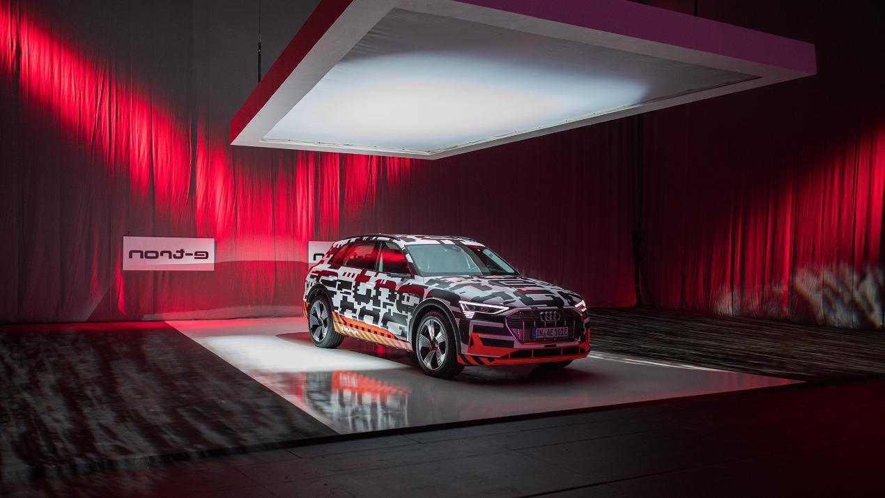 macomNIYU inszeniert Audi e-tron Prototypen-Präsentation im Royal Danish Playhouse