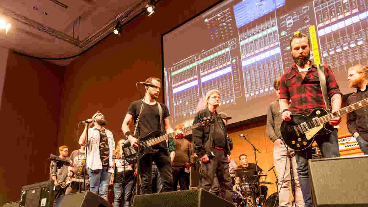 Live Mixing Workshop auf der Tonmeistertagung in Köln