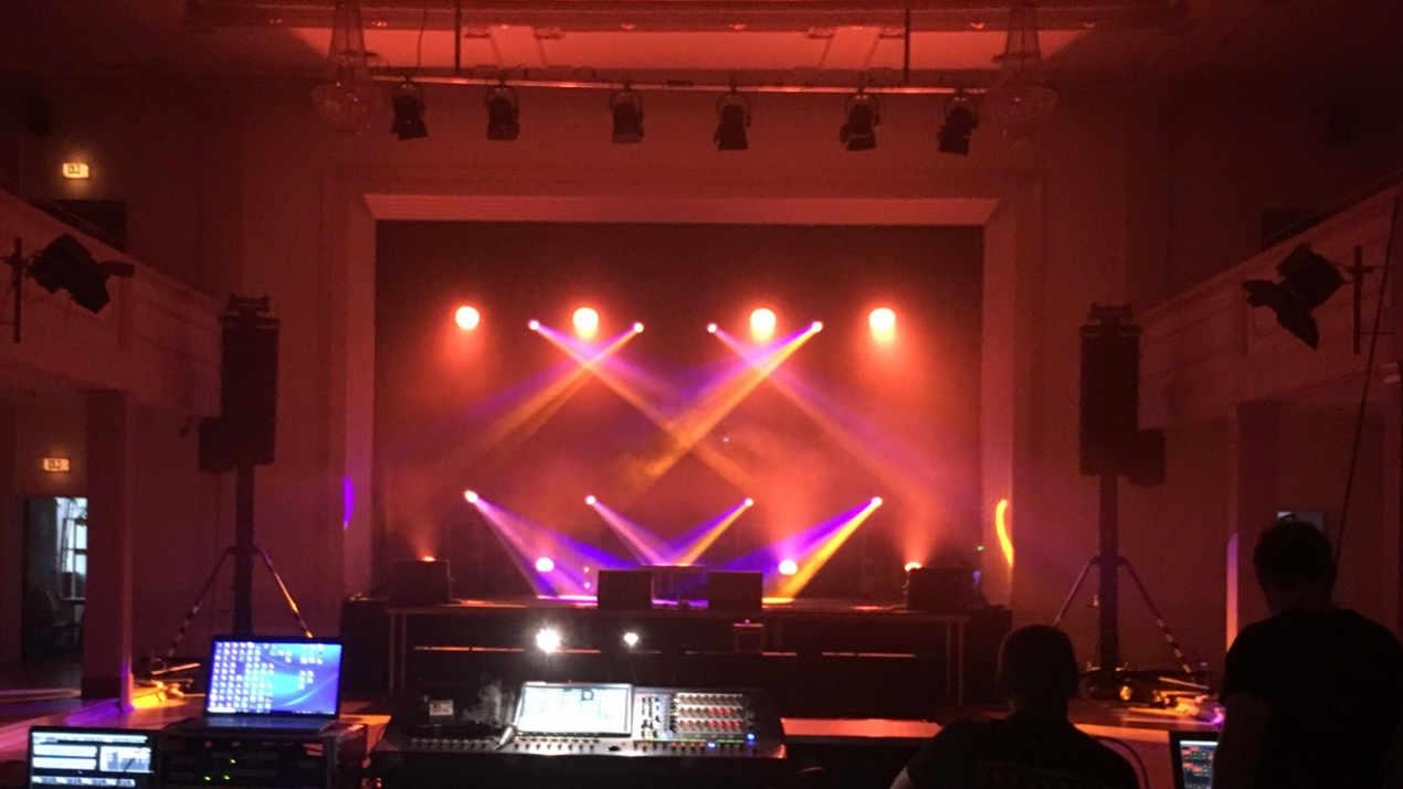 Technik mit rk Light & Sound live erleben