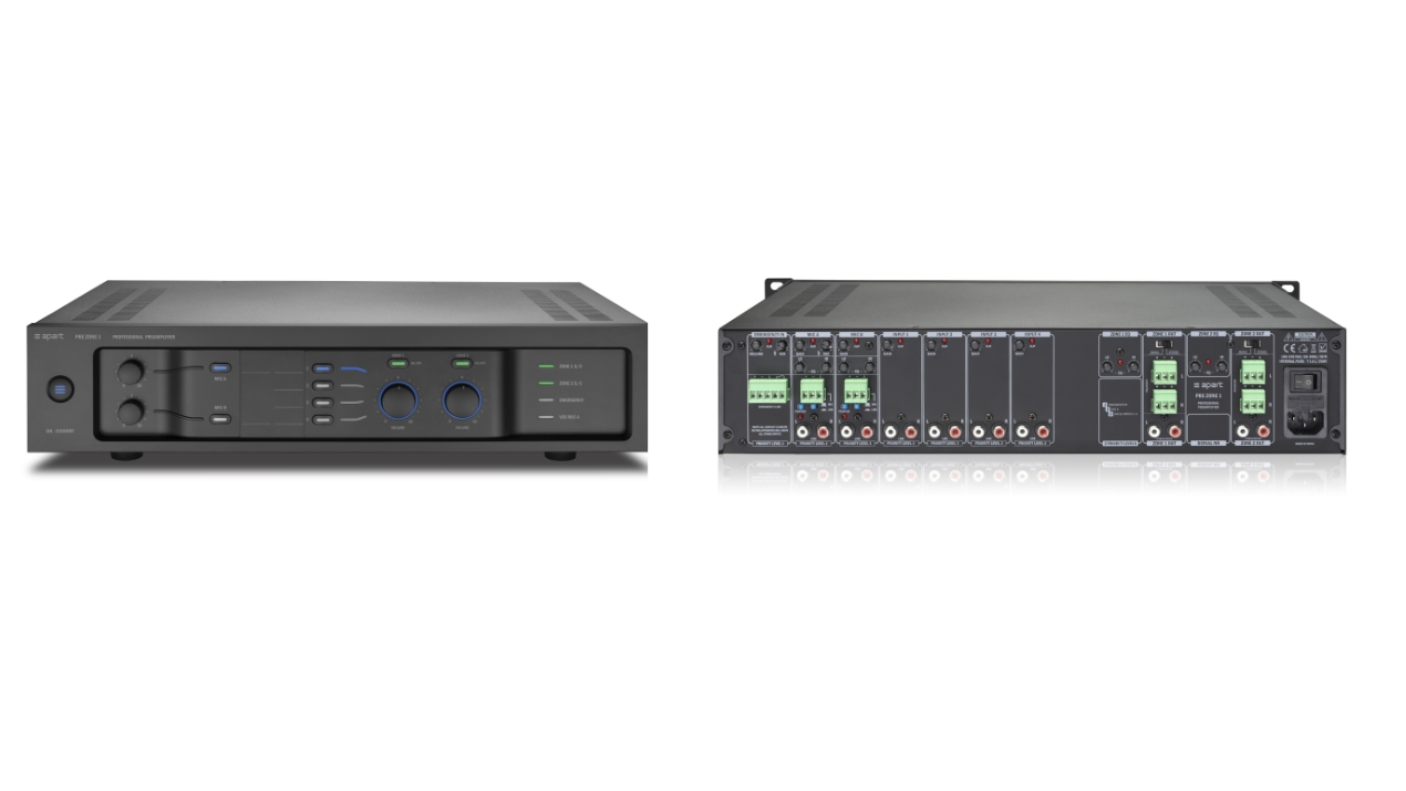 Apart Audio präsentiert multifunktionalen Stereo-Vorverstärker PREZONE1
