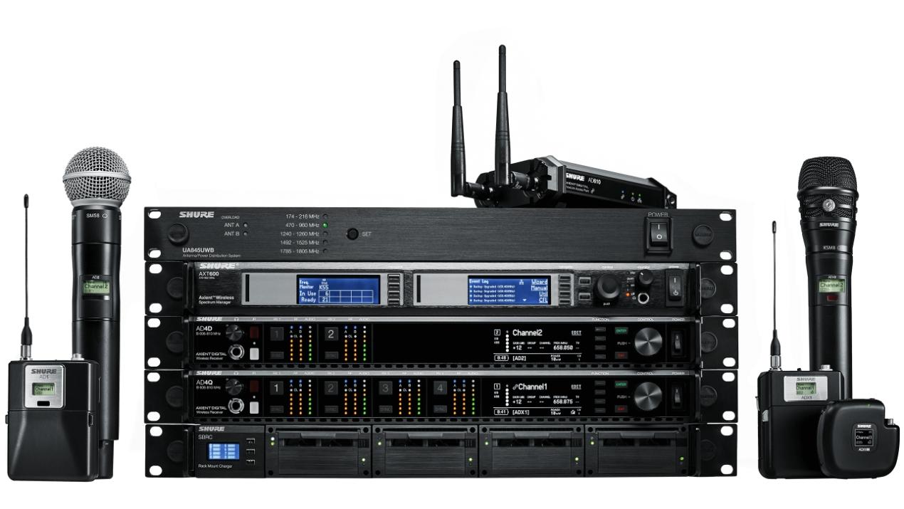 Update der CL- und QL-Serie ermöglicht drahtlose Überwachung und Steuerung von Axient Digital