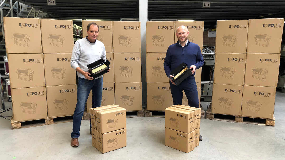 Conrad Licht & Rigging Support investiert in ExpoLite FLS 3CT