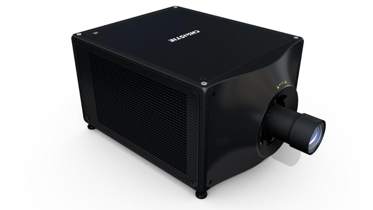 Der neue, kompakte Christie D4K40-RGB liefert satte 40.000 Lumen