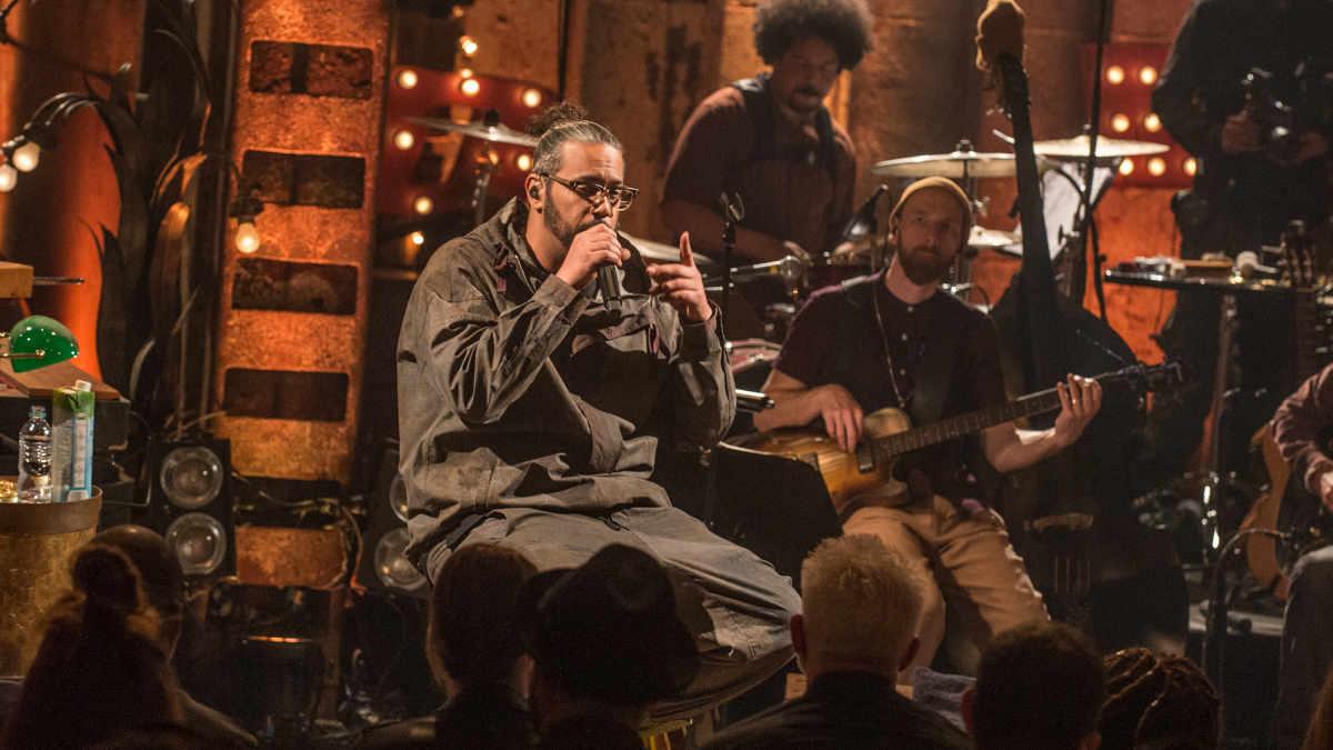 Samy Deluxe MTV Unplugged mit Mikrofonen von Earthworks