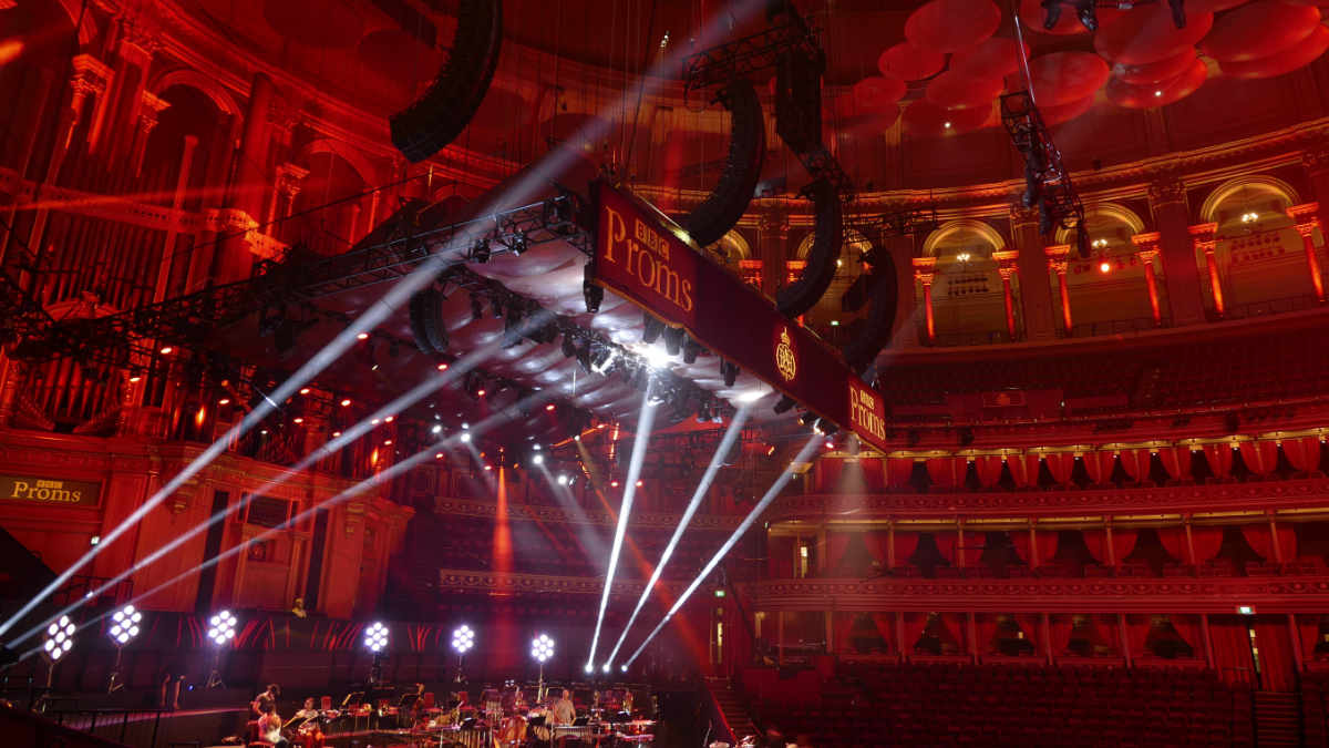 L-ISA Hyperreal Sound System für BBC Proms in der Royal Albert Hall im Einsatz
