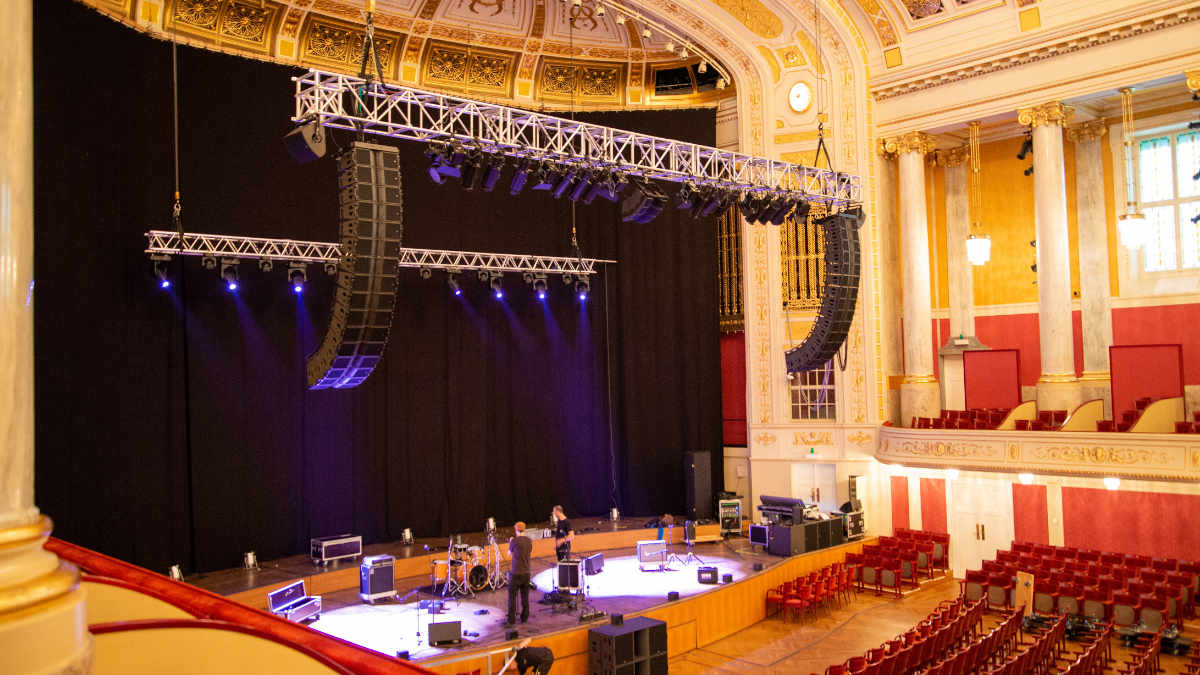 Das Wiener Konzerthaus investiert in L-Acoustics Kara