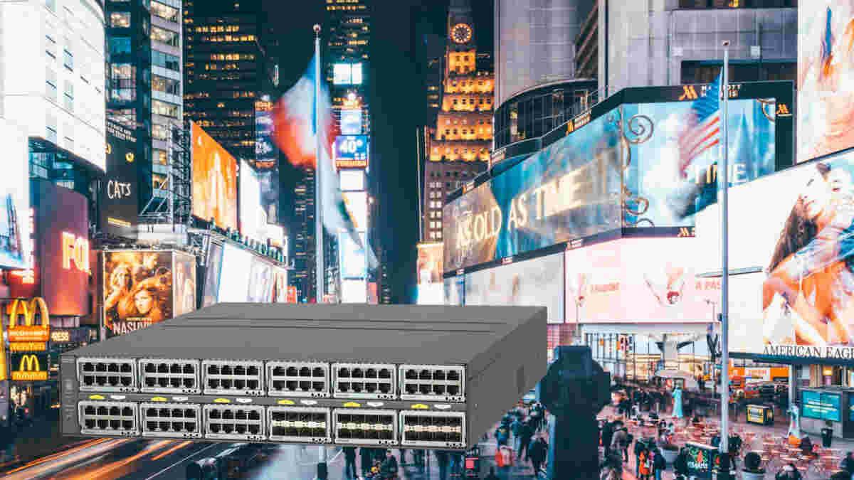 NETGEAR informiert auf der ISE über die SDVoE-ready Gigabit-Ethernet-Switch-Serie M4300