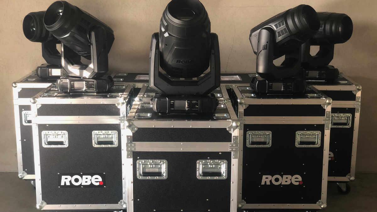 Irrlicht Veranstaltungstechnik setzt auf ROBE MegaPointe