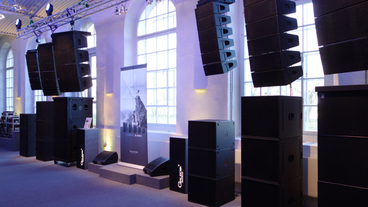 SEEBURG acoustic line Hausmesse