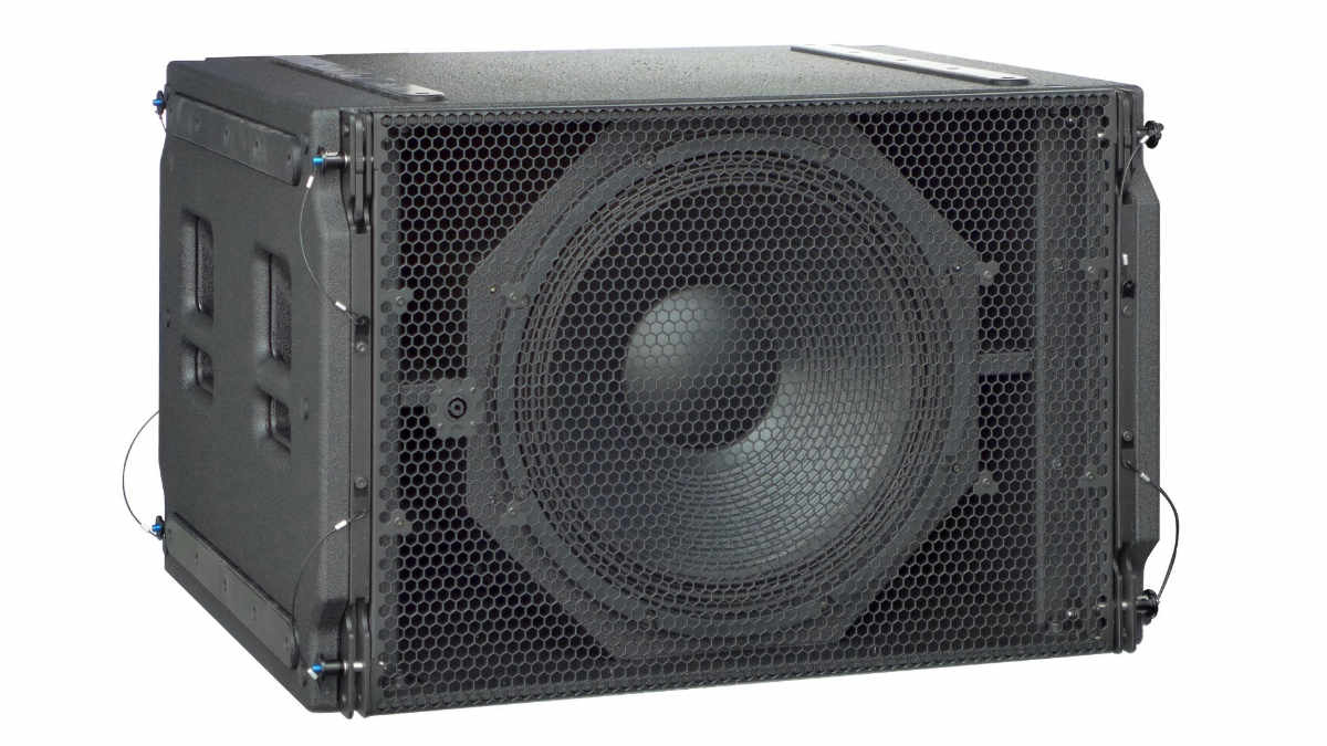Alcons Audio LR18B Line-Array-Bass ist jetzt lieferbar