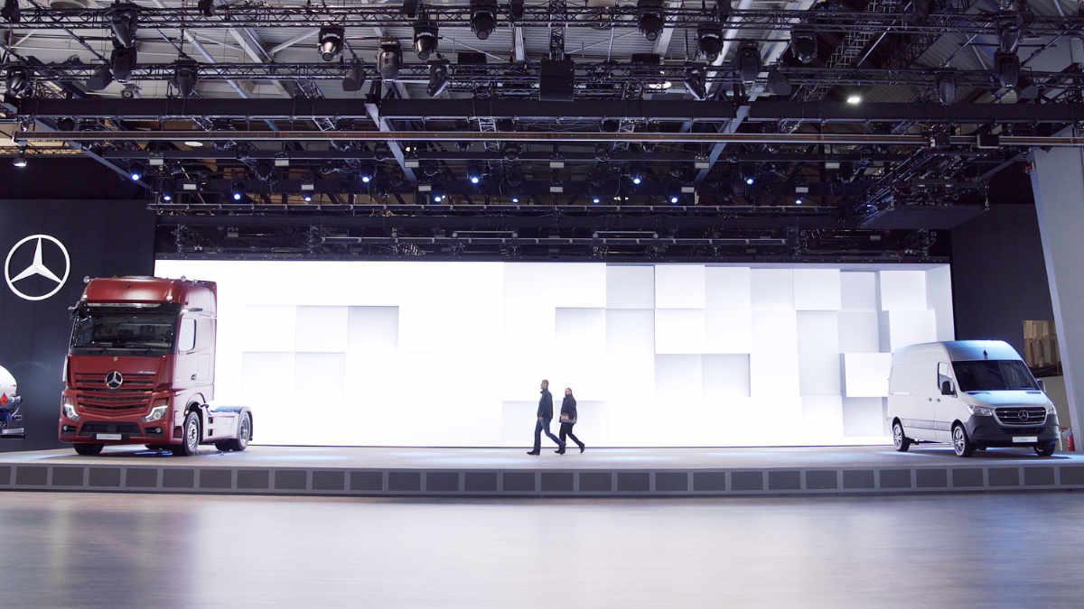 AMBION und CODA Audio für Daimler auf der IAA Nutzfahrzeuge