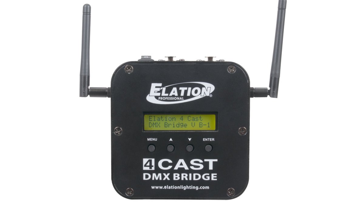 ELATION stellt die 4Cast DMX Bridge vor