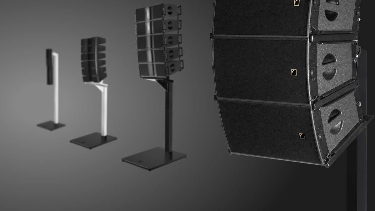 Excellent Line Alpha Stative für L-Acoustics vorgestellt