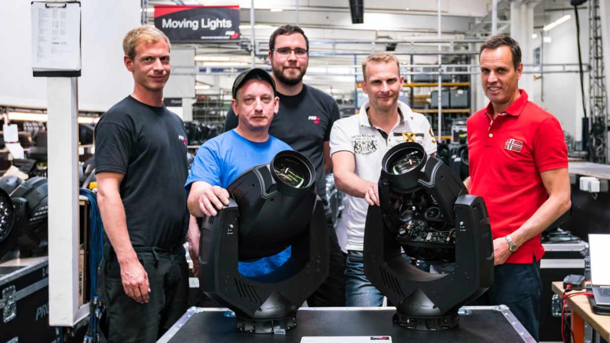 PRG Deutschland investiert in GLP impression S350