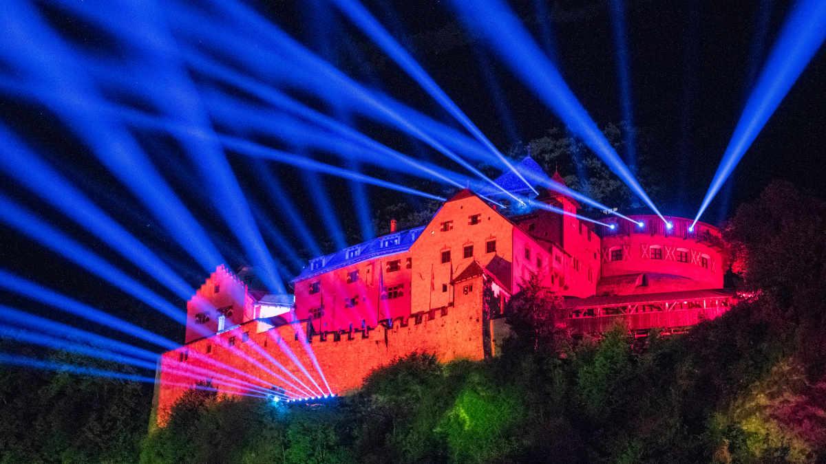 Winkler Livecom setzt beim Liechtensteiner Staatsfeiertag auf ROBE
