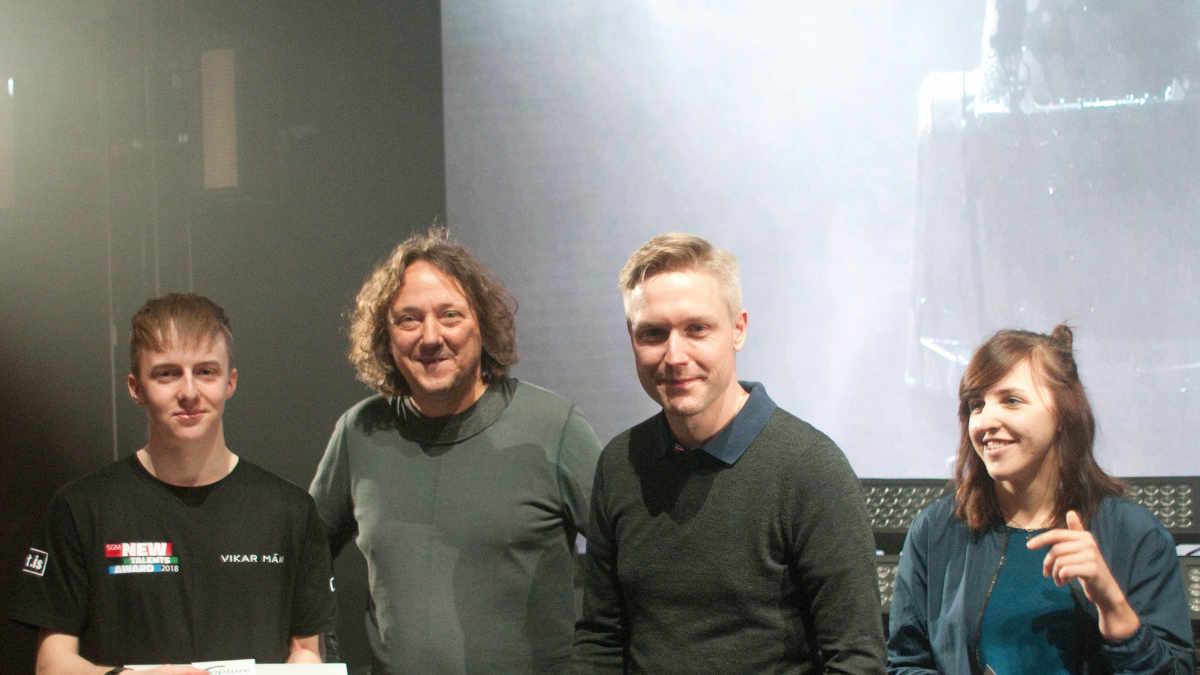 Vikar Porsson gewinnt den SGM New Talents Award