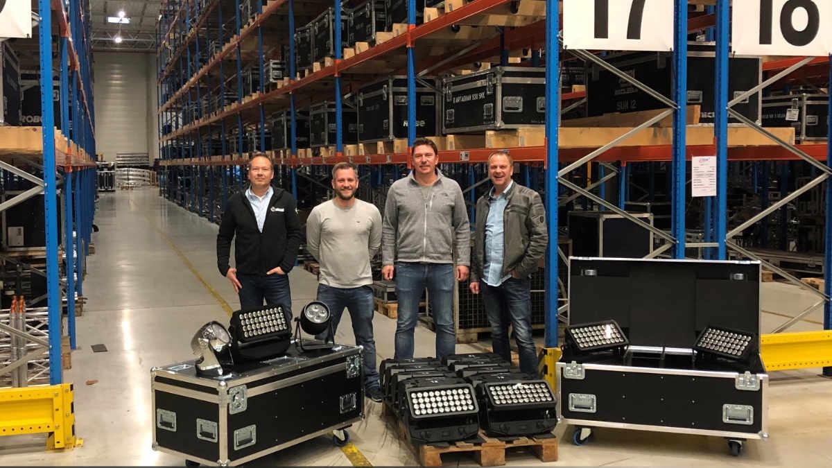 NicLen investiert in Scheinwerfer von Cameo