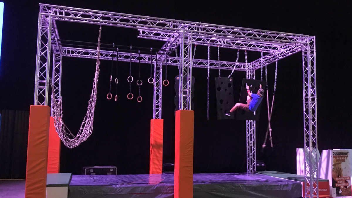 MILOS liefert Trusskonstruktion an die Tubecon Fair in Helsinki