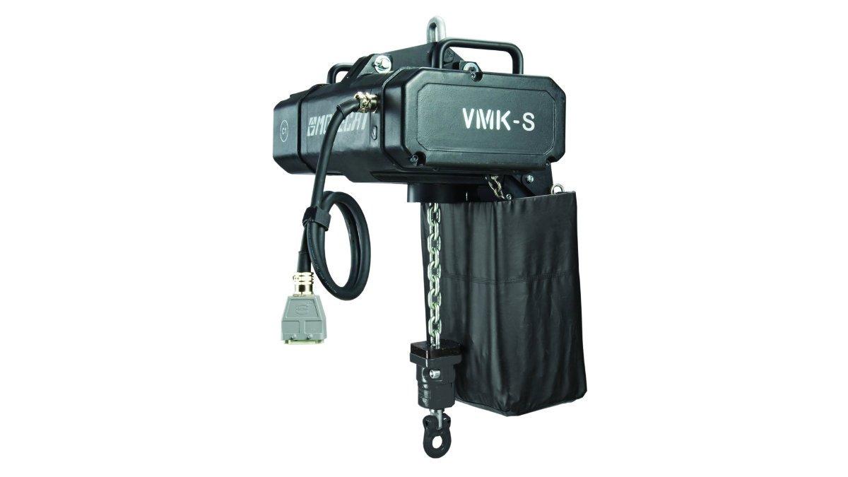 PRG investiert in Movecat VMK S 500 und VKM S 1250 Kettenzüge