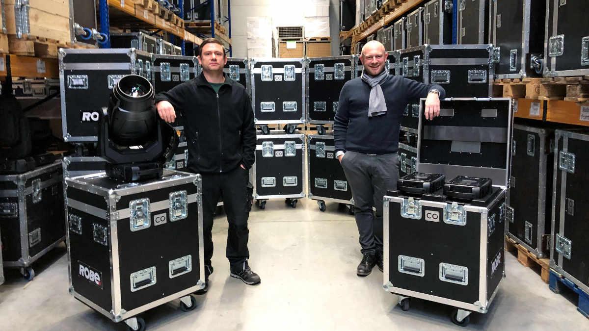 CONRAD Licht & Rigging Support investiert in ROBE MegaPointe