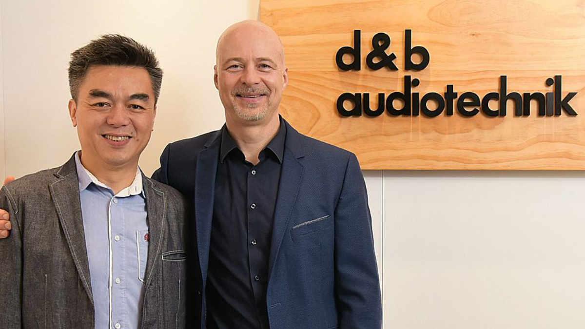 d&b audiotechnik gründet Niederlassung in China