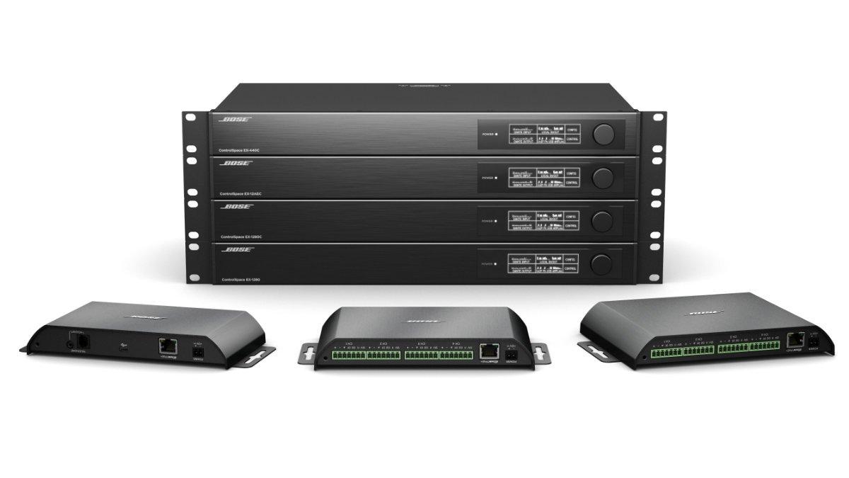 Bose erweitert seine ControlSpace EX Produktreihe