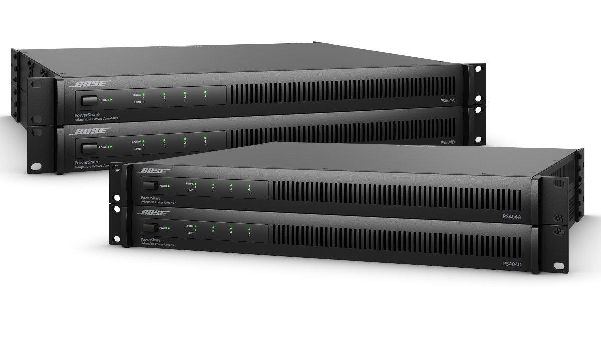Bose stellt neue PowerShare Verstärker PS404D und PS604D vor