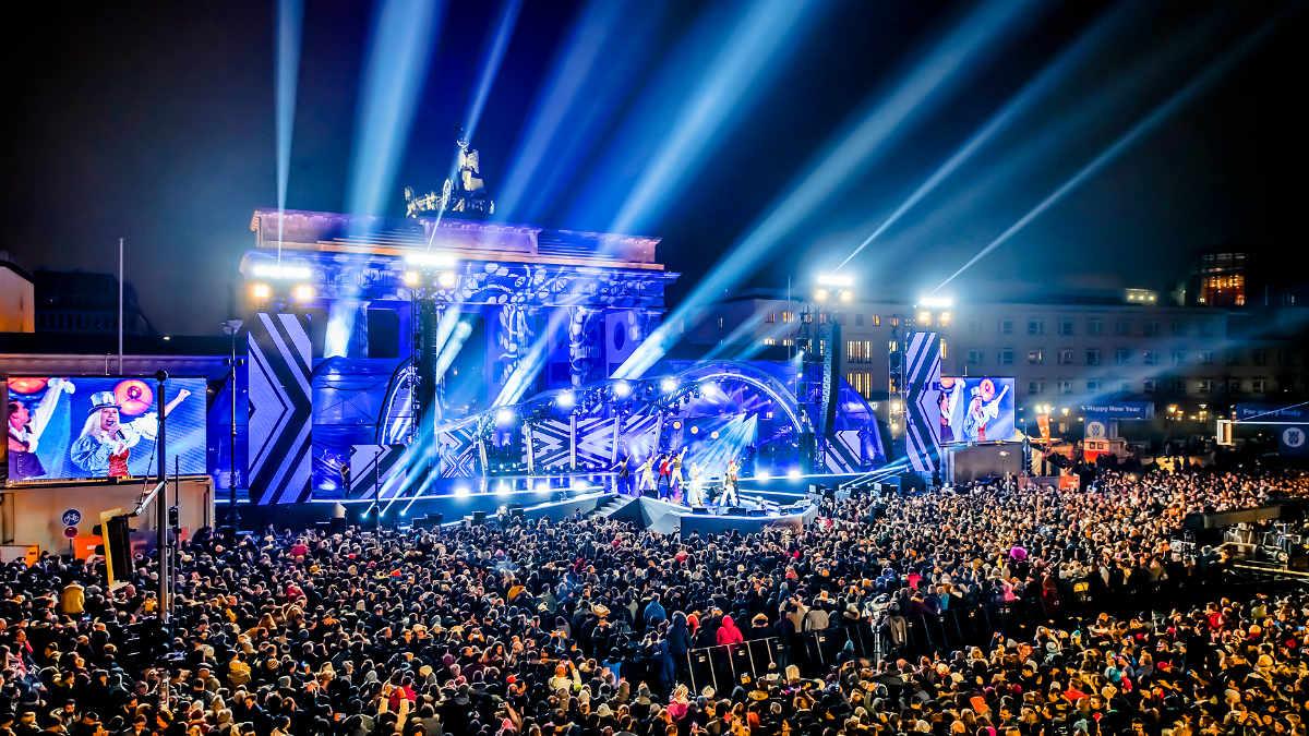 CHAUVET Professional feiert Silvester in Berlin