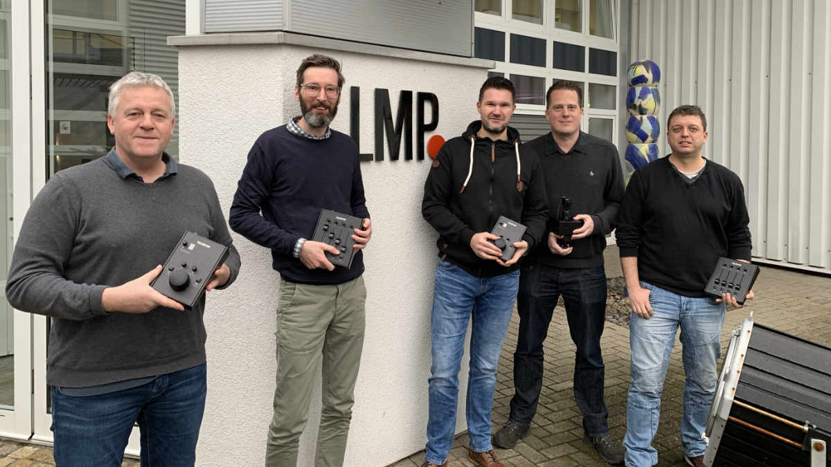 Remote-Follow-Spot-System FOLLOW-ME ab sofort bei LMP im Vertrieb