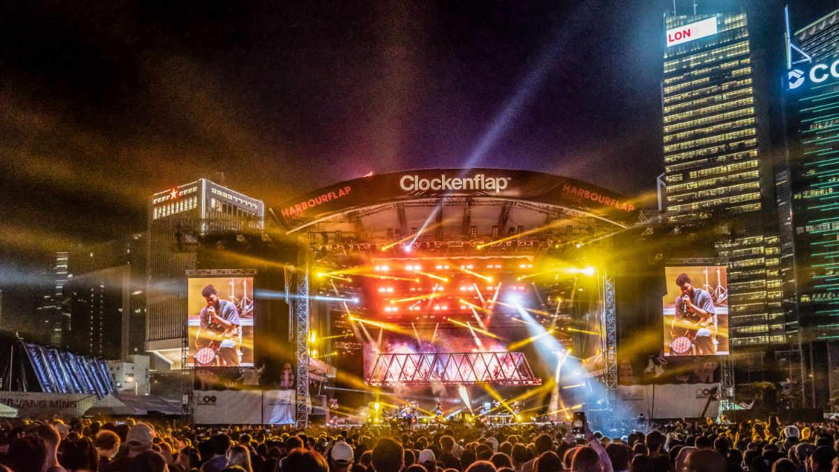 GLP impression X4 Bars beim Clockenflap Festival in Hongkong