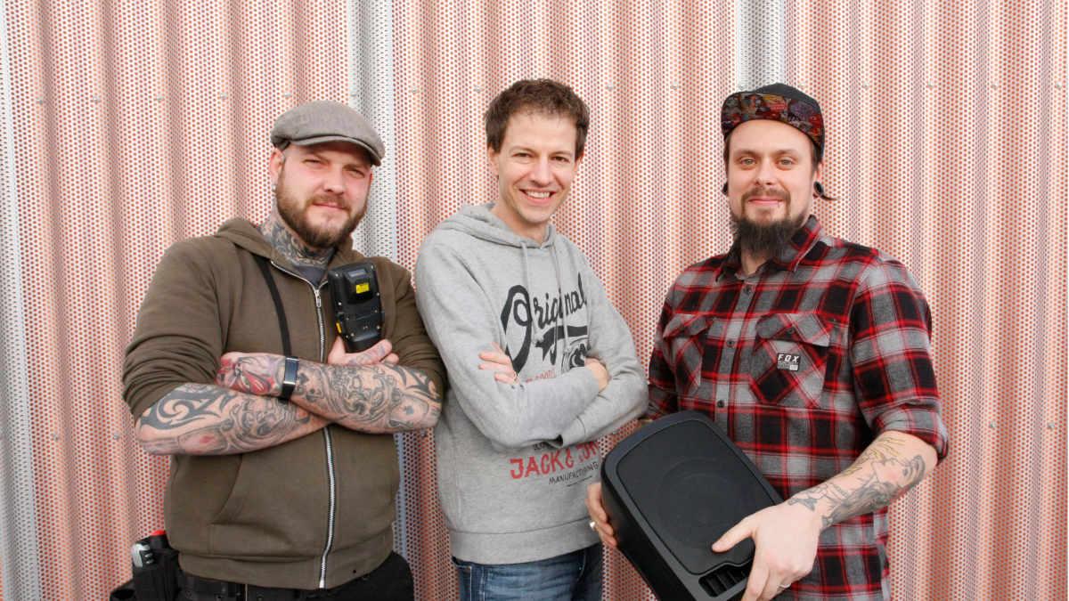 Sascha Gicklhorn und Daniel Otto verstärken Huss Licht & Ton